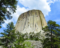 Devils Tower Wyoming Royalty Free Stock Photos