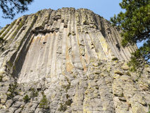 Devils Tower in Wyoming Royalty Free Stock Photos