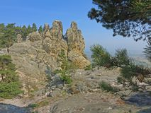 Devils Wall, Harz, Germany Stock Image