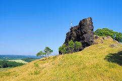 Devils Wall Royalty Free Stock Photos