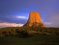 DevilsTower Foto de Stock