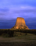 DevilsTower Image stock