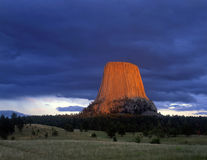 DevilsTower#3 Fotografia de Stock Royalty Free