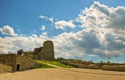 Devin Castle Stock Image