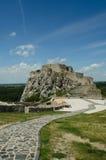 Devin Castle in Bratislava Stock Images