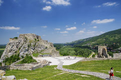The Devin castle Stock Image