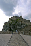 Devin Castle Bratislava slovakia Royaltyfria Foton