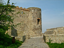 Devin Castle, Bratislava, Slovakia. Ruins of Devin Castle near Bratislava, Slovakia Stock Photography