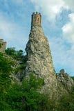 Devin Castle, Bratislava slowakei Stockfoto