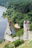 Devin castle near Bratislava. Slovakia Stock Photo