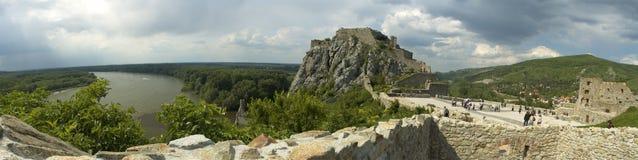 Devin castle panorama Stock Image