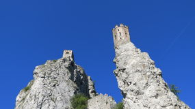 Devin Castle. Part of Devin Castle in Slovakia Royalty Free Stock Images