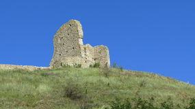 Devin Castle. Part of Devin Castle in Slovakia Royalty Free Stock Photography