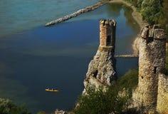 Devin castle ruins Stock Image