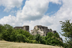 Devin castle ruins Royalty Free Stock Photography