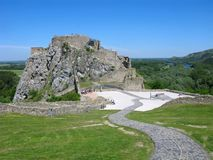 Devin castle, Slovakia Stock Photos