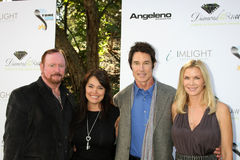 Devin De Vasquez, Katherine Kelly, Katherine Kelly Lang, Ronn Moss, Wally Crowder. LOS ANGELES - OCT 16:  Wally Crowder, Devin DeVasquez, Ronn Moss, Katherine Royalty Free Stock Photography
