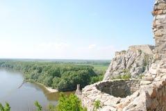 Devin slott Arkivbilder