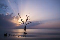 Devine Sunrise. Beautifully devine sunrise at the beach Royalty Free Stock Image