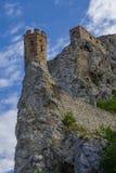 Devinkasteel in Slowakije Royalty-vrije Stock Foto