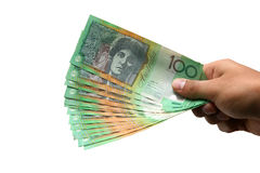 devise australienne Photographie stock libre de droits