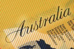 devise australienne Photo libre de droits