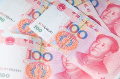 Devise chinoise d'argent Photos stock