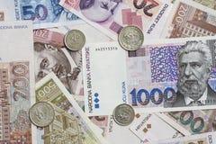 Devise croate Photographie stock libre de droits