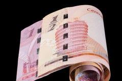 devise de billets de banque du Bahrain Photographie stock