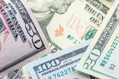 Devise de dollar US Photo libre de droits