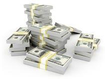 Devise des USA d'argent illustration stock