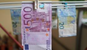 Devise européenne Photo libre de droits