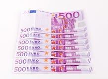 Devise européenne, euro Images libres de droits