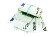 Devise européenne, euro Photos libres de droits