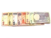 Devise indienne Image libre de droits