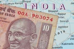 Devise indienne Photographie stock libre de droits