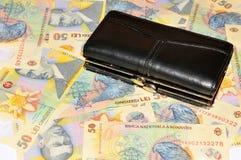Devise roumaine Photo stock