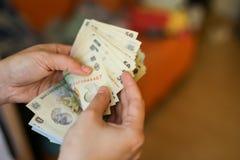 devise roumaine de 50 et de 100 Lei photo libre de droits