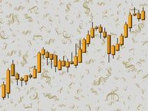 Devisen Stockfoto