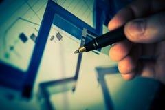 Devisen-Händler Conceptual Image Lizenzfreies Stockfoto
