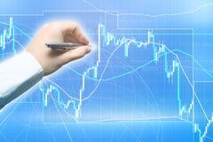 Devisenhandel lizenzfreie stockbilder