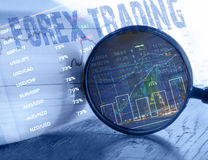 Devisenhandelskonzept Lizenzfreie Stockfotos