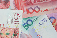 Devisenkurs Stockfoto