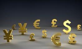 Devisenkurs Stockfotografie