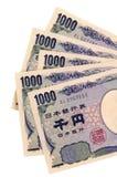 Devisenwechsel der japanischen Yen Lizenzfreies Stockfoto