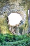In Devitakskoy cave, Bulgaria Stock Image