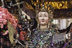 Devoção em Saint Agatha fotos de stock