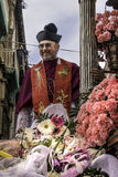 Devoção em Saint Agatha imagens de stock royalty free