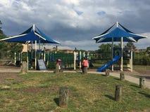 Devon' место s на парке Mathews в Norwalk, Коннектикуте Стоковое Изображение RF