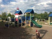 Devon' место s на парке Mathews в Norwalk, Коннектикуте Стоковая Фотография